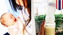 血色嚇人!泰國女星哺乳 竟擠出帶血塊奶水