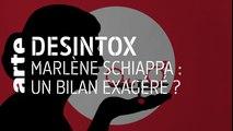 Violences faites aux femmes : le bilan exagéré de Marlène Schiappa | 10/09/2019 | Désintox | ARTE