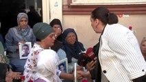 AK Parti'li vekilden HDP önünde eylem yapan ailelere destek ziyareti