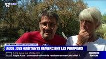 Le bel hommage de ce couple de l'Aude aux pompiers, qui ont sauvé leur maison des flammes