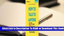 Online How to Talk to Anyone: 92 Little Tricks for Big Success in Relationships  For Kindle