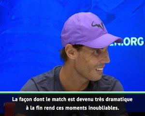 """US Open - Nadal : """"Impossible de retenir mes émotions"""""""