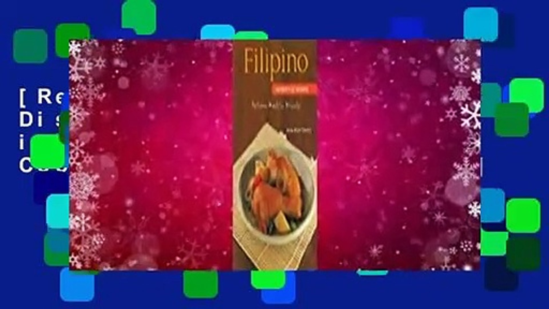 [Read] Filipino Homestyle Dishes: Delicious Meals in Minutes [Filipino Cookbook, Over 60 Recipes]