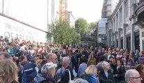 Des manifestants marchent pour la justice sociale et le climat à Bruxelles