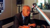 Jean-François Moniotte, chef du groupement des moyens aériens sur la base de la sécurité civile de Garons