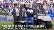 Argentine : Mardona enflamme La Plata
