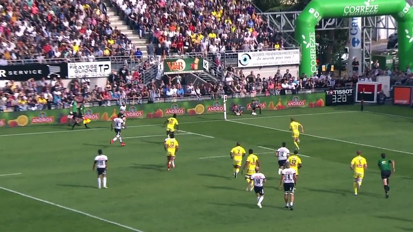 Video : Video - Top14 J3 Résume CA Brive 28 - Clermont 21