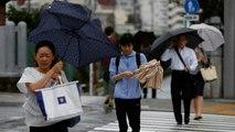 Un puissant typhon s'est abattu sur Tokyo