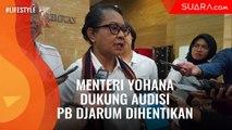 Sebut Langgar 2 Pasal, Menteri Yohana Dukung Audisi PB Djarum Dihentikan