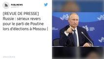 Elections en Russie: lourdes pertes pour le pouvoir à Moscou.