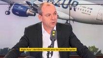"""Reprise de la compagnie aérienne Aigle Azur : """"Je crois qu'Air France a un rôle à jouer"""", estime Laurent Berger"""