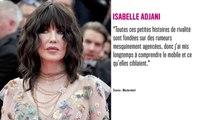 Isabelle Huppert : Isabelle Adjani en guerre contre l'actrice ? Elle s'explique