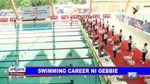 Swimming career ni Gebbie