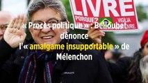 « Procès politique » : Belloubet dénonce l'« amalgame insupportable » de Mélenchon
