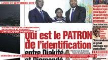 Le Titrologue du 09 Septembre 2019 : Qui est le patron de l'identification entre Diakité et Diomandé ?