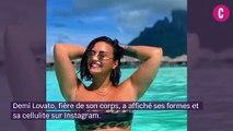 Demi Lovato dévoile sa cellulite sur Instagram