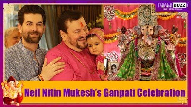 Exclusive: IWMBuzz celebrates Ganesh Chaturthi with Neil Nitin Mukesh