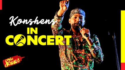 Konshens speaks about Xenophobic attacks as he performs Who Jah Bless