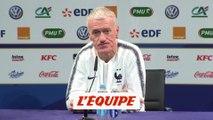 Deschamps «L'objectif est de prendre les trois points» - Foot - Qualif. Euro - Bleus