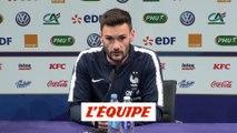 Lloris «On se doit de donner du plaisir aux supporteurs» - Foot - Qualif. Euro - Bleus
