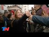 """""""No estás sola"""": miles de bonaerenses marcharon para apoyar a Vidal en el día de su cumpleaños"""