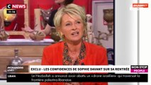 """Morandini Live : Sophie Davant """"coincée"""" avec """"Affaire conclue"""" ? Elle répond (vidéo)"""