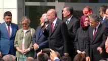 Cumhurbaşkanı erdoğan atatürk fen lisesi'ni gezdi