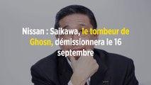 Nissan : Saikawa, le tombeur de Ghosn, démissionnera le 16 septembre