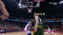 Le regard tueur de Joe ingles sur Rudy Gobert