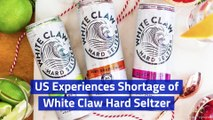 US Experiences Shortage of White Claw Hard Seltzer