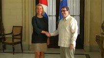 La UE vuelve a tender la mano a Cuba