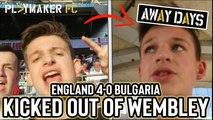 Away Days | England 4-0 Bulgaria: Ticketing and stewarding chaos at Wembley