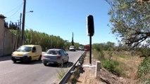 Conduite sous haute surveillance entre les Pennes-Mirabeau et Gignac