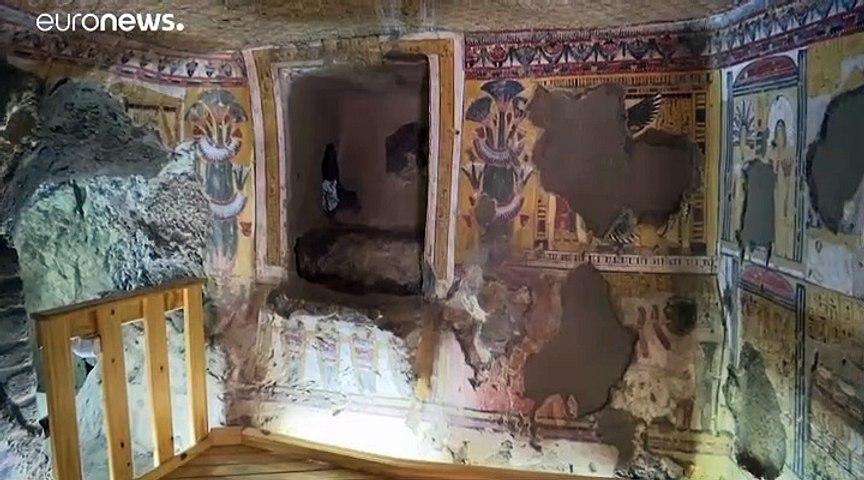 Egypte : deux nouveaux tombeaux dévoilés à Louxor