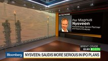 Saudis Getting More Serious on IPO Plans in Oil Policy: Rystad Energy