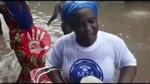 Inondation : Keur Mbaye Fall sous les eaux le jour de la Tamkharite