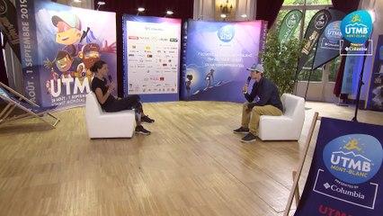 UTMB® 2019 Interview (FR/EN) - Ruth Charlotte CROFT