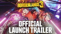 """BORDERLANDS 3 Official Cinematic Launch Trailer """"Let's Make Some Mayhem"""" (2019)"""