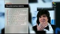 Falleció el cantante y compositor español Camilo Sesto