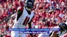 Julio Jones Becomes NFL's Highest-Paid Wide Receiver