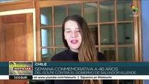 teleSUR Noticias: Chile: Marcha en defensa de la verdad y la justicia