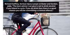 The law around cycling and drinking