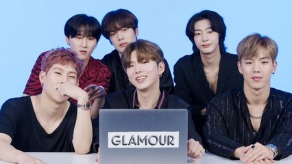 Monsta X Watches Fan Covers on YouTube - Part 1