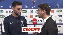 Lloris «Clément Lenglet ne joue pas au Barça par hasard» - Foot - Qualif. Euro - Bleus