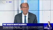 """Plan pour les urgences: Selon Éric Woerth, député LR de l'Oise, """"ces 754 millions, il y a personnes pour les payer, sinon la dette"""""""