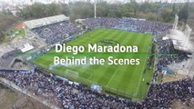 Behind the Scenes - Gimnasia welcomes Maradona