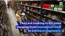 Amazon to Hold Job Fairs Across the US