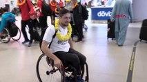 Spor avrupa üçüncüsü tekerlekli sandalye basketbol takımı yurda döndü