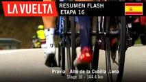 Resumen Flash - Etapa 16 | La Vuelta 19