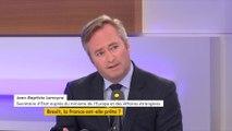 """Brexit : """"L'Union européenne et la France sont prêtes"""" (Jean-Baptiste Lemoyne)"""